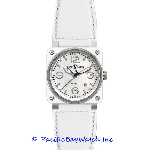 Bell & Ross Men's BR 03-92 White Ceramic