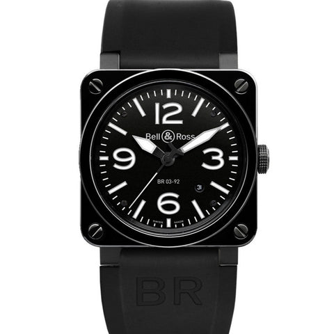 Bell & Ross Men's BR 03-92 Black Ceramic