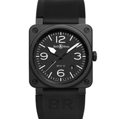 Bell & Ross Men's BR 03 Black BR0392-BL-CE