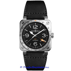 Bell & Ross BR 03-93 Men's Watch BR0393-GMT-ST/SCA