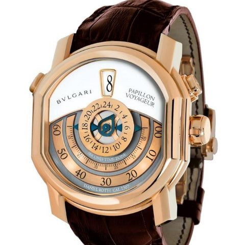 Bvlgari Daniel Roth Papillon Voyageur GMT Jumping Hours BRRP46C14GLGMTP