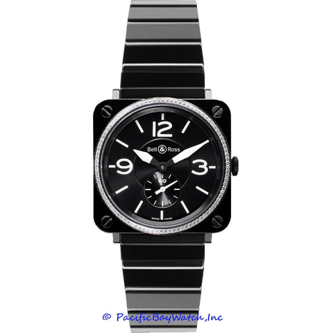 Bell & Ross Midsize BR S Black Ceramic Diamond