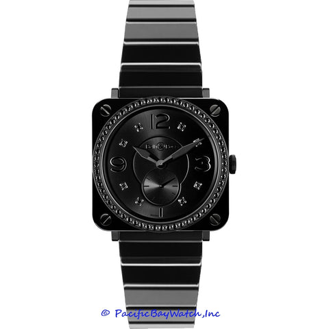 Bell & Ross Midsize BR S Black Ceramic Phantom Diamond