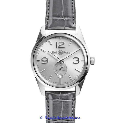 Bell & Ross Vintage 123 Officer Silver