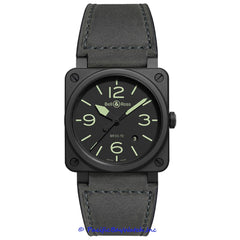 Bell & Ross Men's BR 03 Black BR0392-BL3-CE/SCA
