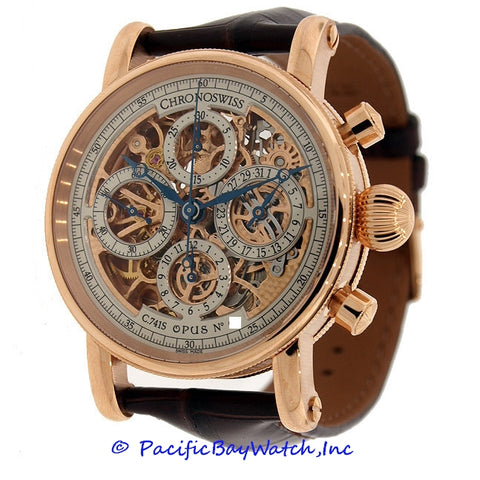 Chronoswiss Grand Opus Skeleton Chronograph Mens CH7541SR