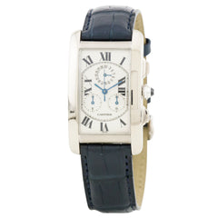 Cartier Tank Americaine Chronograph Men's 2312 Pre-owned