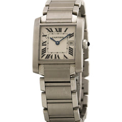 Cartier Tank Francaise Mid-Size W51011Q3 Pre-Owned