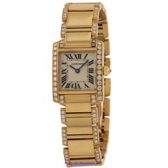 Cartier Tank Francaise Ladies WE1001RG Pre-Owned
