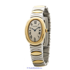 Cartier Baignoire Ladies Two Tone Pre-owned