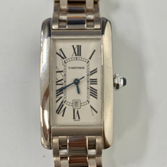 Cartier Tank Americaine Mid-Size 1726 Pre-Owned