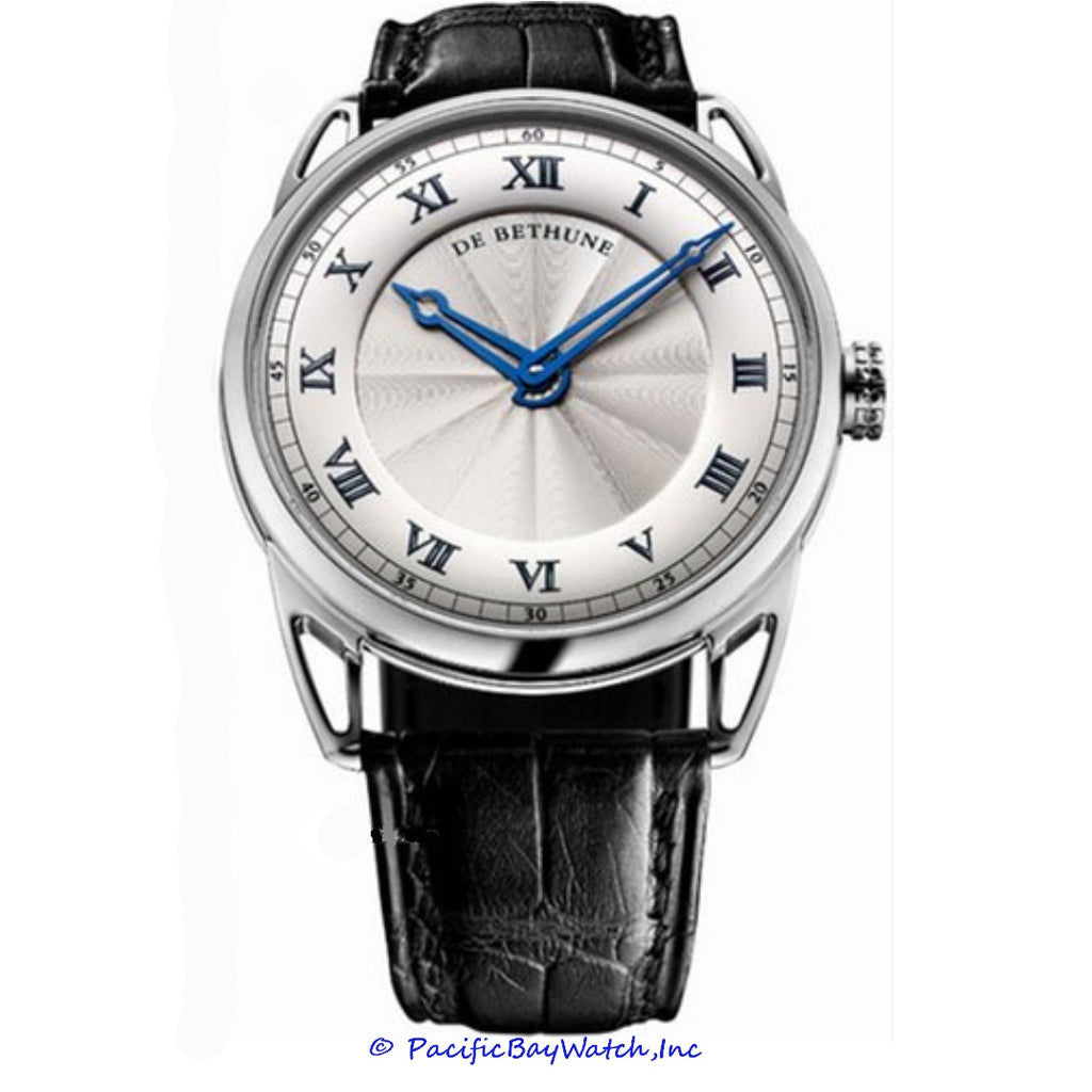 DeBethune DB25 White Gold DB25WS1 | Pacific Bay Watch