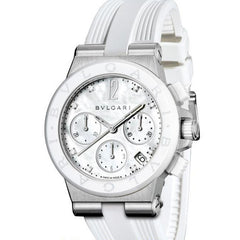 Bvlgari Diagono Ladies Chronograph DG37WSCVDCH8 101993