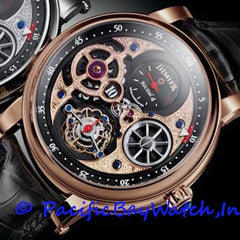 Bovet Dimier Recital 4 Jump Hour Tourbillon Men's