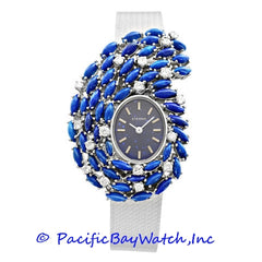 Eterna White Gold with Lapis and Diamond