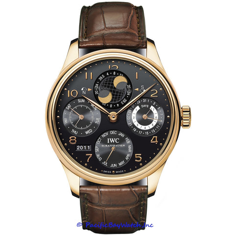 IWC Portuguese Perpetual Calendar Moonphase IW502122