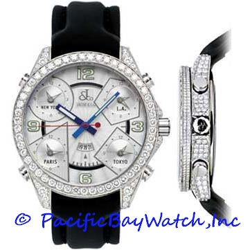 Jacob & Co. JC3-A Men's 5 Time Zone All Diamonds
