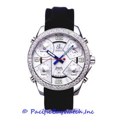Jacob & Co. JC-3 Men's 5 Time Zone 3.25ct Bezel