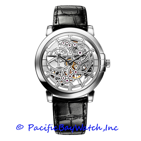 Harry Winston Midnight Skeleton MIDAHM42WW001