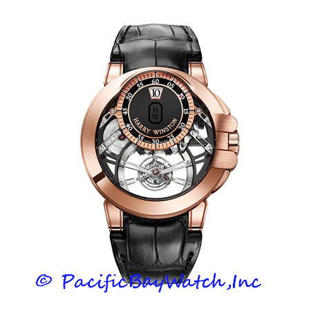 Harry Winston Ocean Tourbillon Jumping Hour OCEMTJ45RR001