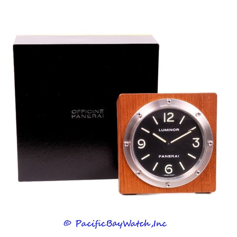 Panerai Luminor Table Clock PAM00254