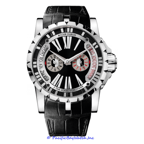 Roger Dubuis Excalibur Triple Time Zone RDDBEX0257
