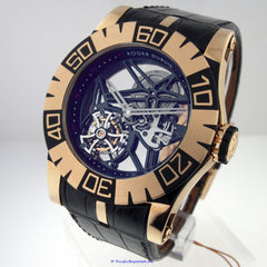 Roger Dubuis Easy Diver Skeleton Flying Tourbillon SED48-02SQ-51-00/09000/B1 Pre-Owned