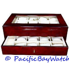 Steinhausen Cherrywood Watch Display Case TM309E