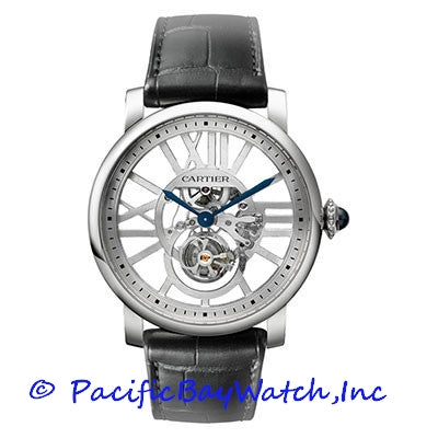 Cartier Rotonde de Cartier Skeleton Flying Tourbillon W1580031