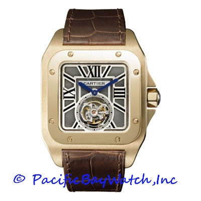Cartier Santos 100 Flying Tourbillon W2020019