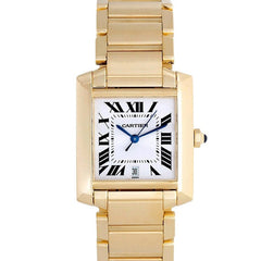 Cartier Tank Francaise Men's W50001R2 Pre-Owned