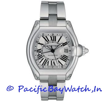 Cartier Roadster Men's GMT W62032X6