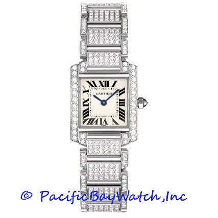 Cartier Tank Francaise Ladies WE1002SD