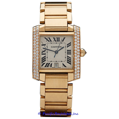 Cartier Tank Francaise Men's WE1010R8 Pre-Owned