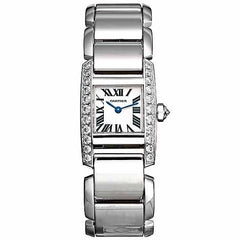 Cartier Tankissime Ladies White Gold WE70069H