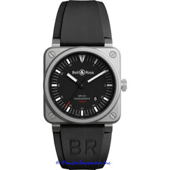 Bell & Ross Aviation BR0392-HOR-BLC/SRB