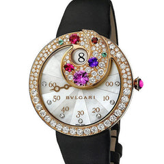 Bvlgari Berries Jumping Hours Retrograde Minutes BEP40WGD2LR