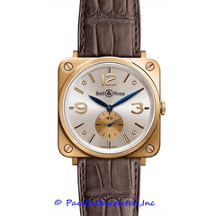 Bell & Ross Mid-Size BR-S 18k Gold