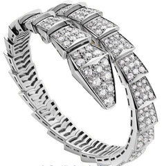 "Bulgari Pavé Diamond ""Serpenti"" Bracelet BR855231"