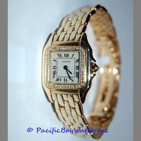 Cartier Panther Ladies Diamond Pre-Owned