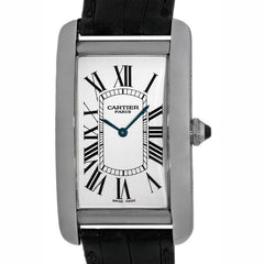 Cartier Tank Americaine Men's Platinum Pre-Owned