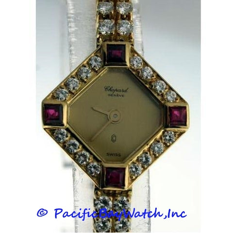 Chopard Classiques Ladies Pre-owned Diamonds and Rubies