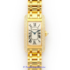 Cartier Tank Americaine Ladies WB7043JQ Pre-Owned
