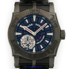 Roger Dubuis Easy Diver PVD Tourbillon Pre-Owned