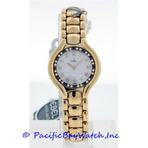 Ebel Beluga Ladies Yellow Gold