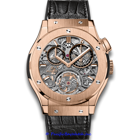 Hublot Classic Fusion Tourbillon Skeleton King Gold 506.OX.0180.LR