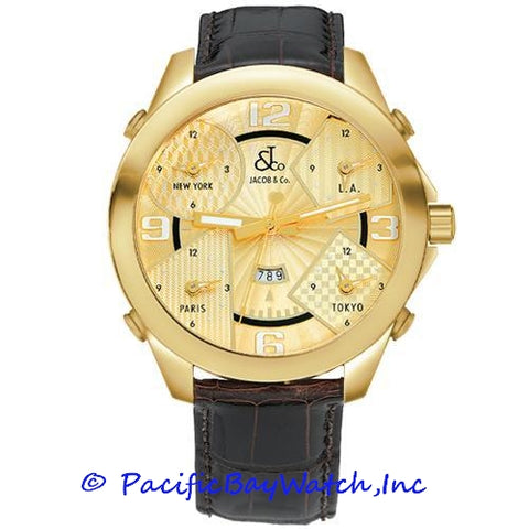 Jacob & Co. JC-10 Men's 5 Time Zone