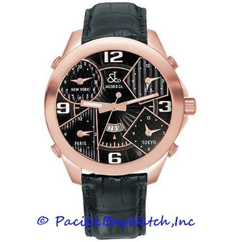 Jacob & Co. JC-9 Men's 5 Time Zone
