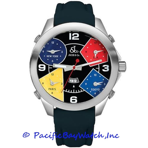 Jacob & Co. JC-11 Men's 5 Time Zone