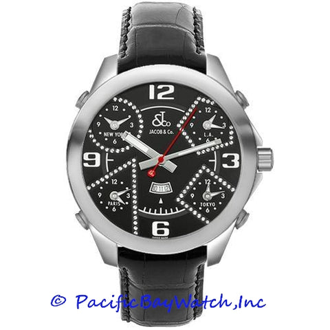 Jacob & Co. JC-2 Men's 5 Time Zone